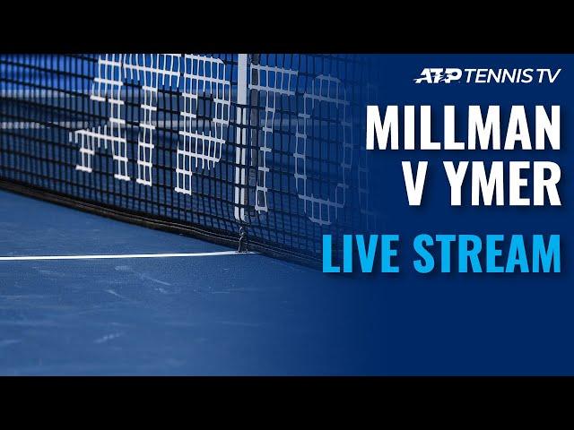John Millman vs Mikael Ymer | 2021 ATP Sofia Open Live Stream