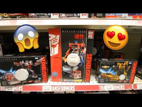 FOUND MP-10 G1 OPTIMUS PRIME & MPM-03 BUMBLEBEE @ TOYS R US USA! [Epic Toy Hunting #22]