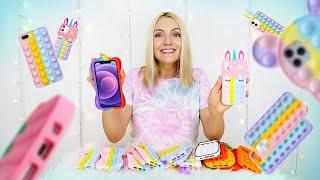 Je teste des coques de téléphone pop it girly 💖| Sophie Fantasy
