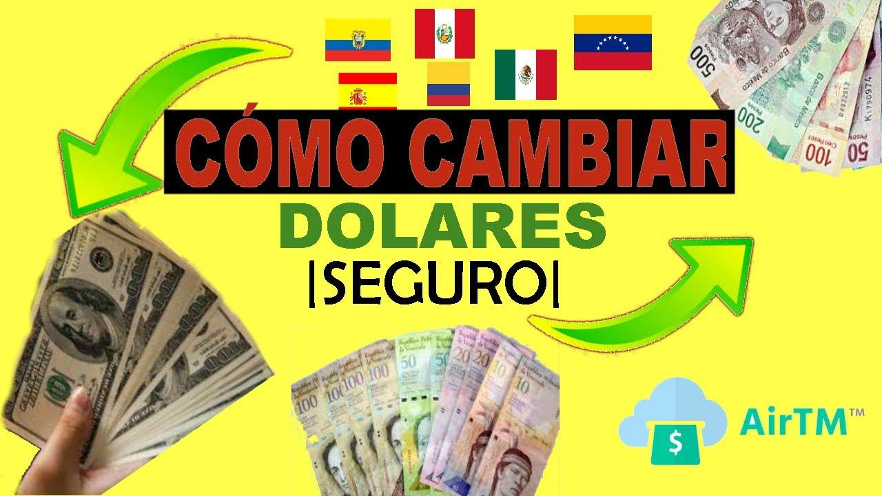 Cambiar Dolares A Bolivares Pesos Y Bitcoin Con Airtm Venezuela Se