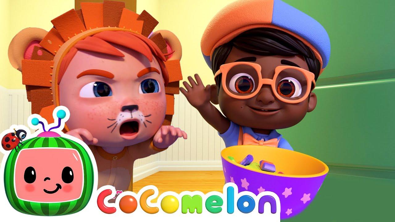 Trick or Treat Song - @Cocomelon - Nursery Rhymes | Kids Cartoons & Nursery Rhymes | Moonbug Kids