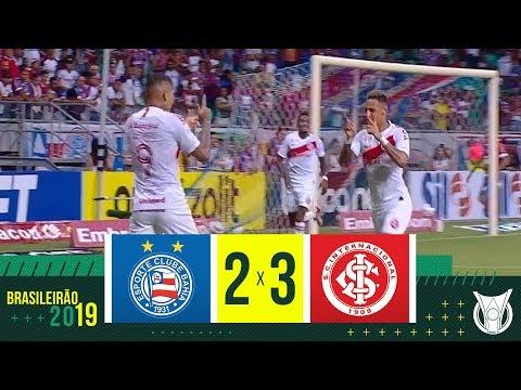 BAHIA 2 X 3 INTERNACIONAL - Melhores Momentos - Brasileirão 2019 (26/10)