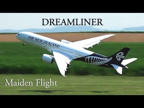 RC Boeing 787-9 Dreamliner Maiden flight, Air New Zealand