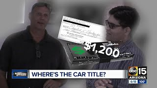 Let Joe Know: Man accused of selling cars without a title