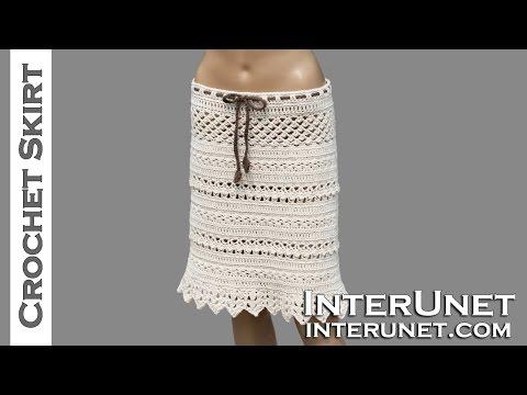 Lace skirt crochet pattern