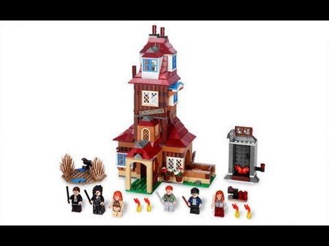 Lego Harry Potter 4840 The Burrow Youtube