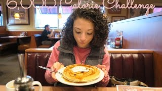 Vlogmas Day 4: 6,000 Calorie Challenge