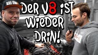 Der V8 ist wieder drin! - Audi RS4 B7 Motortausch Teil 6 | Philipp Kaess |