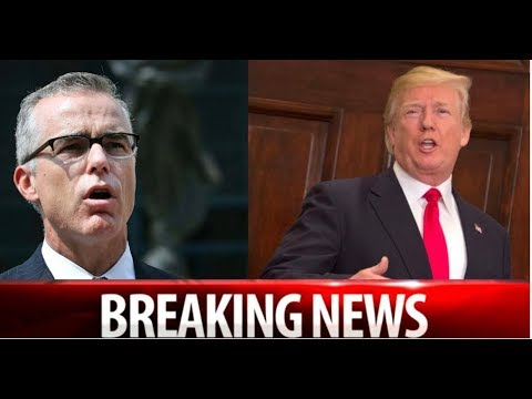 BREAKING! MCCABE ISSUES VILE THREAT TO TRUMP AFTER LOSING RETIREMENT!  IMMEDIATELY GETS WORSE NEWS!