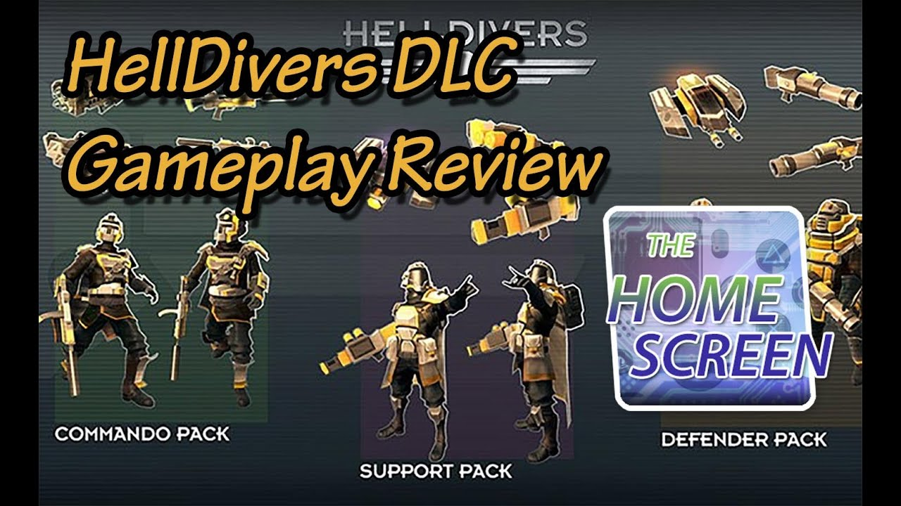 HellDivers DLC Gameplay Review - YouTube