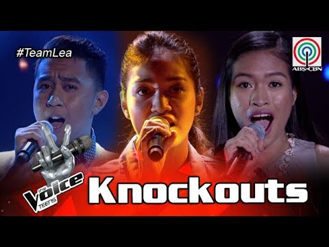 The Voice Teens Philippines Knockout Round: Brandon vs Shell vs Mica