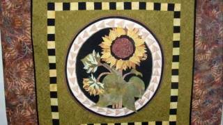 Judy Heyward's Quilt Display