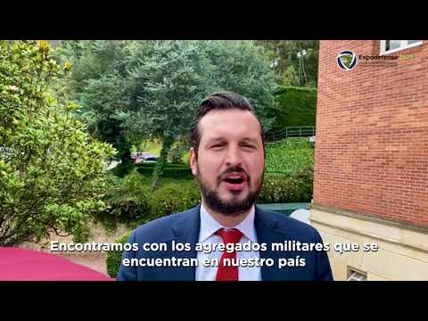 Expodefensa 2021 - Entrevista con Carlos Andrés Ríos Puerta
