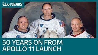 Fifty years on from historic Apollo 11 launch to the moon | ITV News
