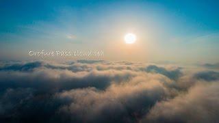 北海道観光 絶景!空から見るオロフレ峠雲海