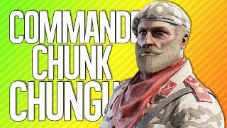COMMANDER CHUNK CHUNGUS | Rainbow Six Siege