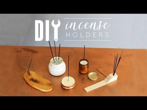 DIY Incense Holders