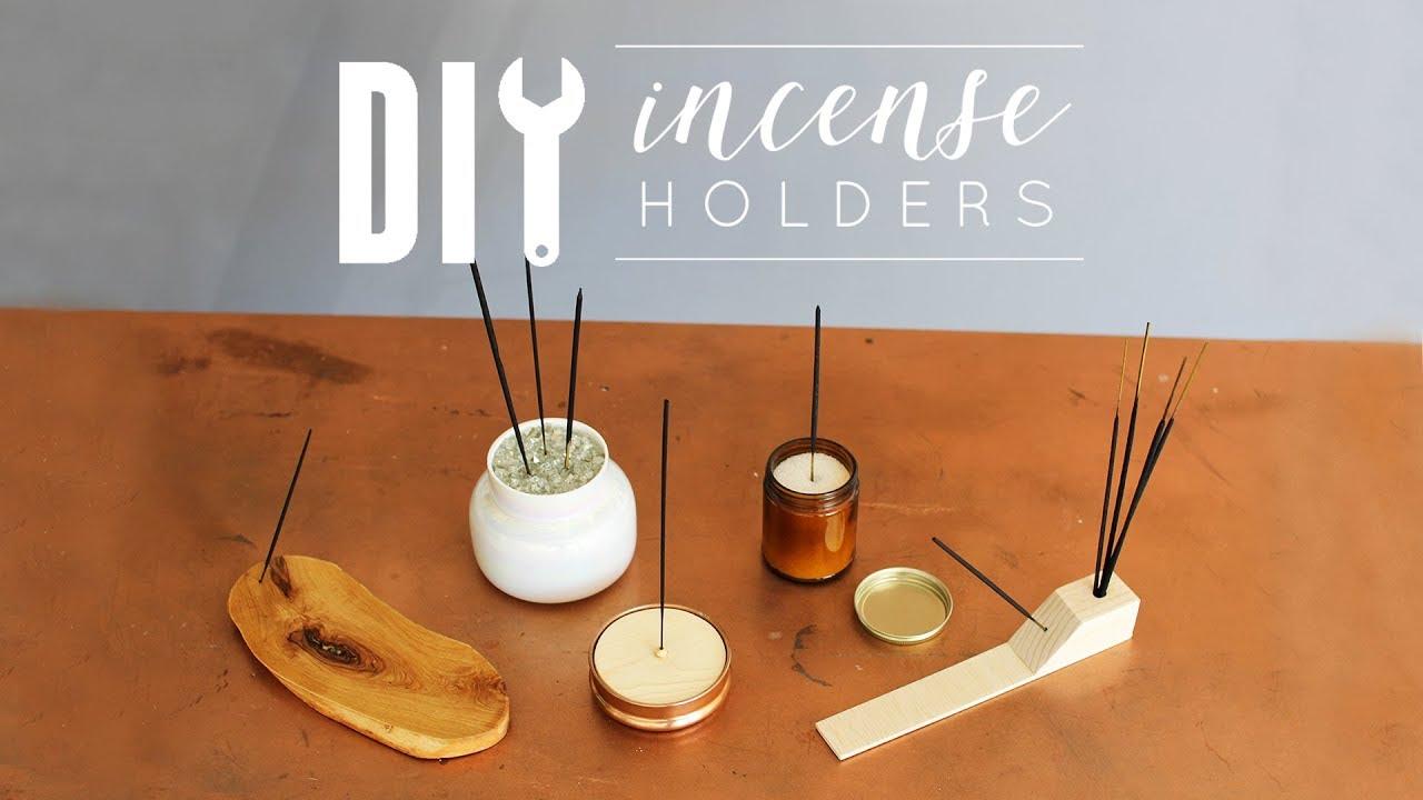 18 Diy Incense Holders Youtube Diy Incense Holder Diy Holder Incense Holders