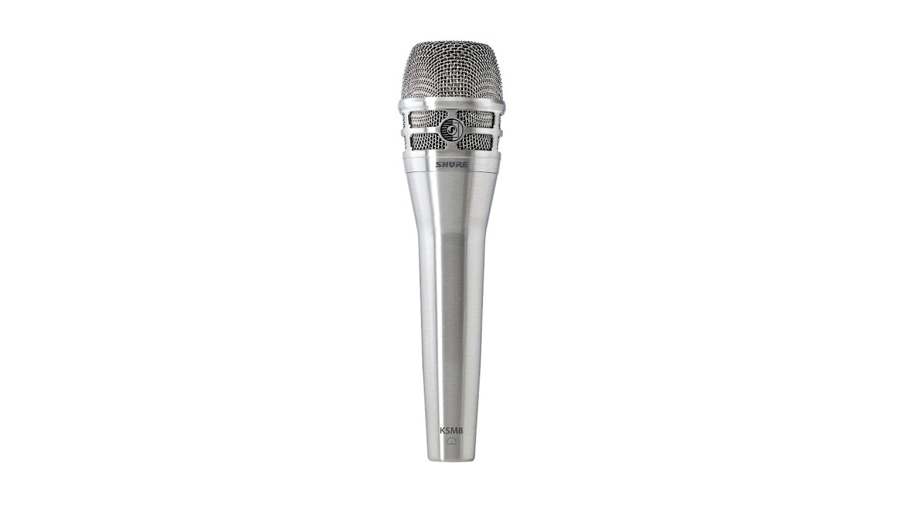 shure ksm8 dualdyne dynamic microphone review by sweetwater youtube. Black Bedroom Furniture Sets. Home Design Ideas
