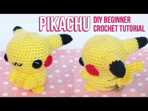 DIY Amigurumi Pikachu Crocheted amigurumi Pokémon – Amigurumi Patterns | 360x480