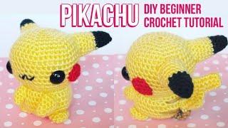 Pikachu Amigurumi Crochet Tutorial Part 1