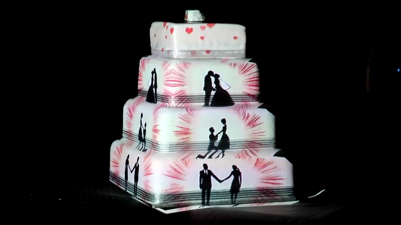 brigi andor wedding cake projection mapping youtube. Black Bedroom Furniture Sets. Home Design Ideas