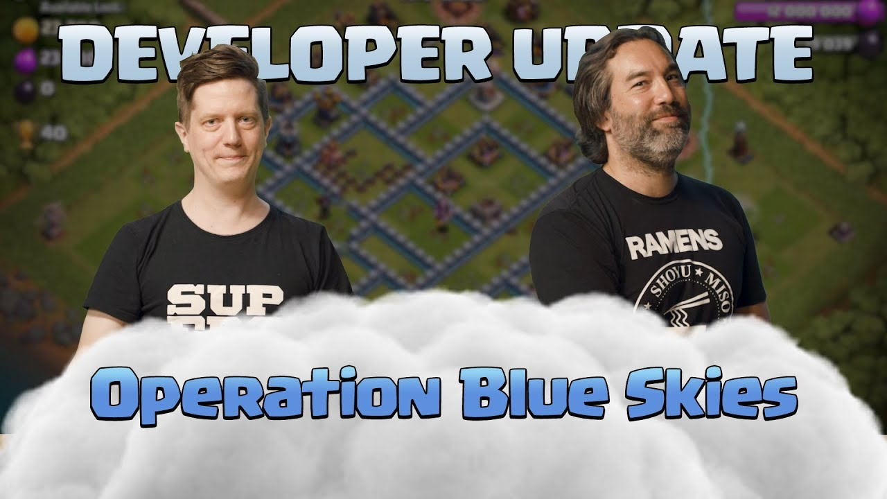 Clash of Clans - Operation Blue Skies Dev Update Video - June 2019 Update