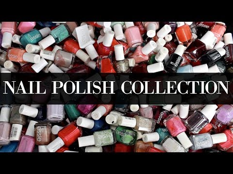 NAIL POLISH COLLECTION AND GIVEAWAY!!! THE BEFORE (AKA HOT MESS) |