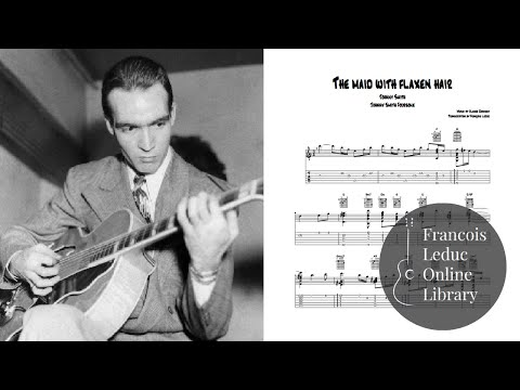 The Maid with the Flaxen Hair - Johnny Smith (Transcription)