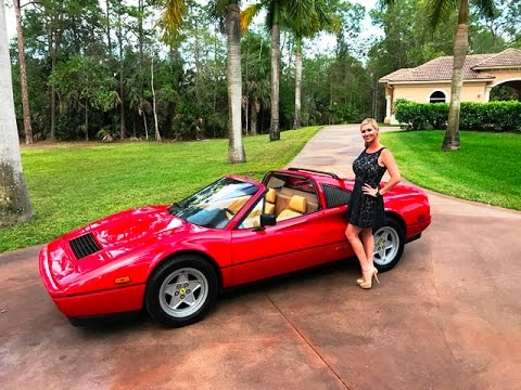 sold 1986 ferrari 328gts 1 owner for sale by autohaus of. Black Bedroom Furniture Sets. Home Design Ideas