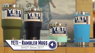 YETI - New Powder-coated Rambler Mug - SHOT Show 2017