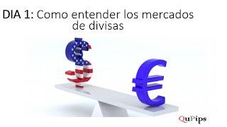 1- Como entender el Forex (mercados de divisas)