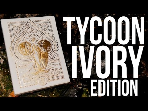 Deck Review - Tycoon Ivory Edition Playing Cards [HD-4K]