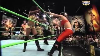 FCW 01-15-2012 FCW Divas Championship Match ( Caylee Turner vs Aurdey marie )