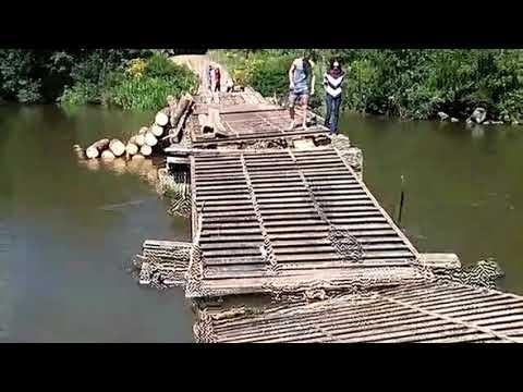 Momento em que Desaba a Ponte das Goiabeiras