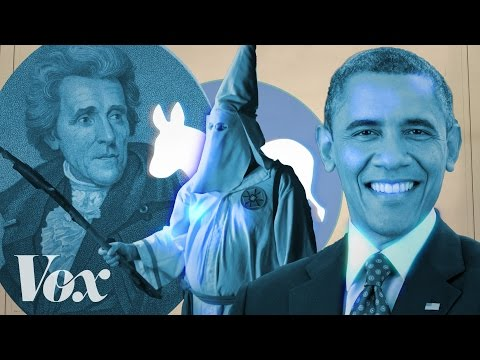 From white supremacy to Barack Obama: The history of the Dem