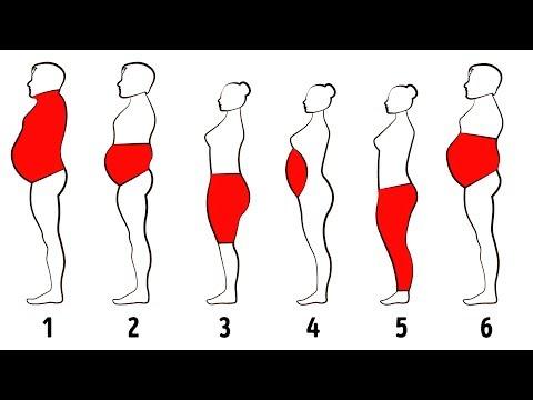 6種類の体脂肪とその落とし方