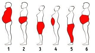 体のどの箇所に脂肪がついているかにより、体脂肪には6つのタイプに分けられます。これらの脂肪を落とす、とても効率的な方法をご紹介して...