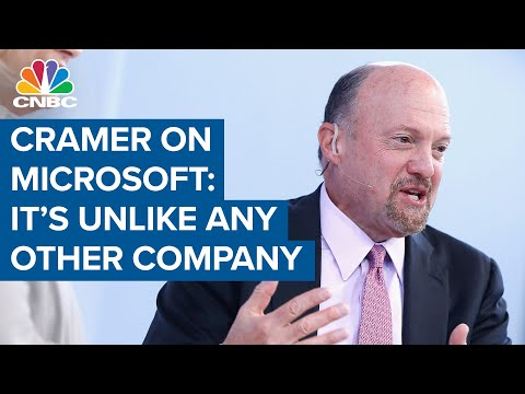 Jim Cramer On Microsoft: 'It Is Unlike Any Other Company'