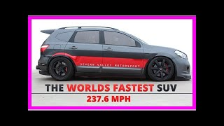 This 237mph Nissan Qashqai is 'the world's fastest SUV' By J.News