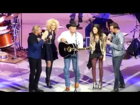George Strait & Little Big Town - You Look So Good In Love