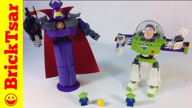 Lego Toy Story Construct A Zurg Construct A Buzz 7591 7592 From
