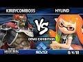 Evo Demo SSBU - Kirbycombo35 (Ganondorf) Vs. Hylind (Inkling) Smash Ultimate