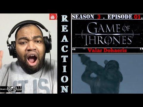 "Game of Thrones 3x01 ""Valar Dohaeris"" REACTION"