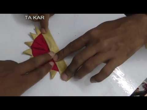 fashion designer technique | secret technique | easy method | new drapes with temple design