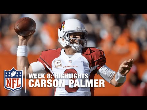 Carson Palmer Highlights (Week 8) | Cardinals vs. Browns | NFL
