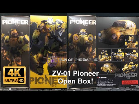 Zeta Toys ZV-01 Pioneer   Masterpiece Bumblebee Open Box! Any Difference? Q.Review 172