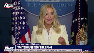MEDIA MELTDOWN: Kayleigh McEnany DEFENDS President Trump On Reopening Churches