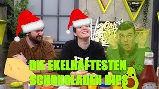 Die EKELHAFTESTEN Schokoladen Weihnachtsdips!