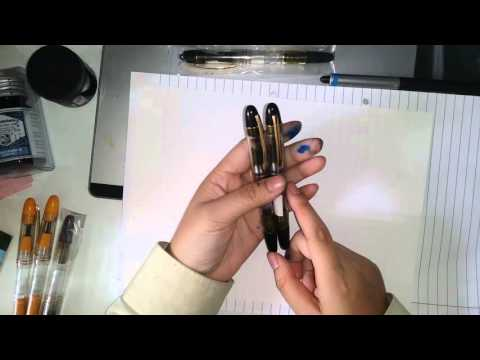Awesome and cheap India flex fountain pens!